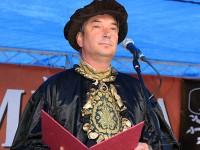 Starosta Částečka v roli středověkého purkmistra