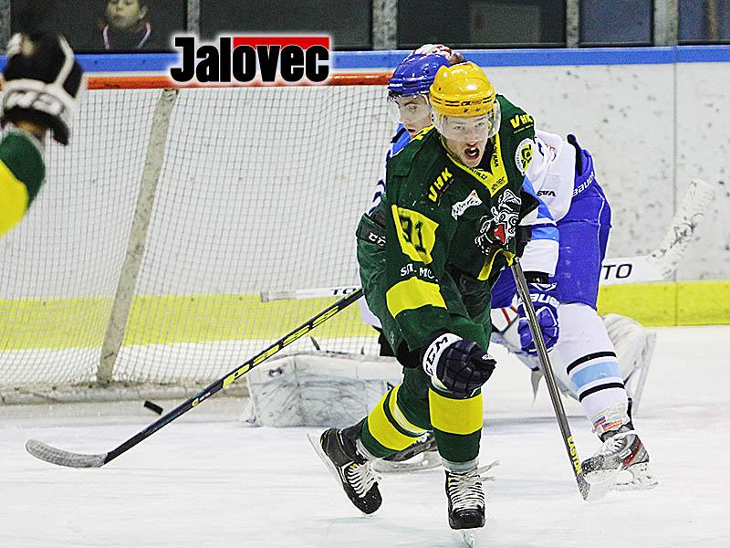 HC Bobři Valašské Meziříčí (modro-bílé dresy) – VHK Vsetín (zeleno-žluté dresy)