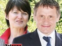 Jiří Čunek a Marcela Urbanová