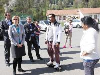 Romové: Chceme do centra, Vsetín navštívila ministryně Šlechtová