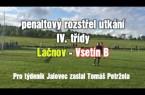 Duel Lačnova a Vsetína B rozhodly penalty