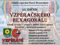Balaton hostí 28. Vzpěračský hexagonál
