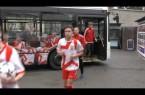 Novým autobusem v barvách FC Vsetín vstříc horkým fotbalovým novinkám