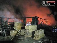 Karlovice zažily ohnivé peklo. Dva noční požáry během 24 hodin