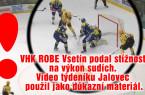 Hokejové utkání Vsetín – Přerov: Sporné momenty pod lupou