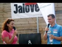 Michal Krčmář potěšil děti v Rožnově
