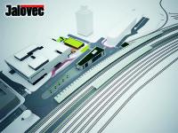 Vsetín – Stovky parkovacích míst – Železniční přejezdy nahradí podchod