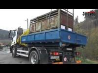 VIDEO: Do Oznice přivezli past na medvěda