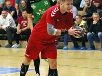 Vsetín (červené dresy) vs. Lovosice (zelené dresy)
