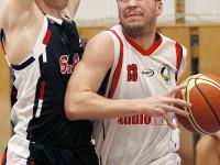 FOTOGALERIE: Basketbalisté Meziříčí na dvakrát převezli Kroměříž