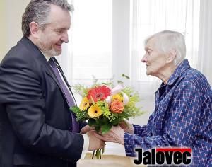 Nejstarší občanka Valmezu oslavila 102. narozeniny