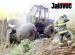 Požár udělal z traktoru vrak