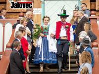 Jurkovičova rozhledna přivítala svatbu