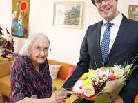 Ludmila Hlatká oslavila 100 let
