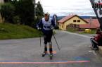 Výjezd na Vysokou na kolečkových lyžích