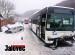 Osobák se střetl s autobusem. Řidička v Lužné doplatila na náledí
