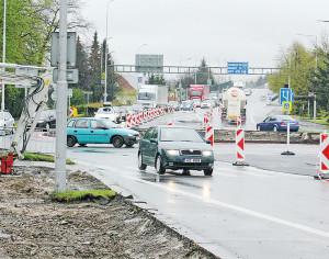 Řidiči pozor! Kruháče ve Valmezu projdou opravou