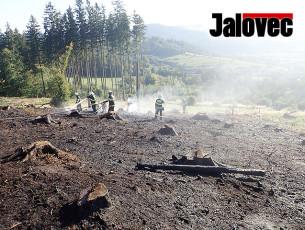 V Jablůnce hořel les. Podruhé za dva dny
